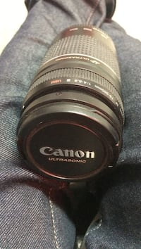 Canon 75mm-300mm zoom lenz