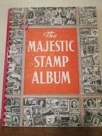 1950's, The Majestic Stamp Collection Book