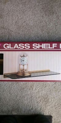 GLASS SHELF KIT... BRAND NEW * I HAVE 4 LEFT   $15 each