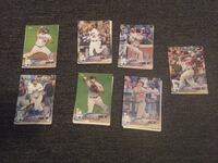 six assorted baseball trading cards South Gate, 90280