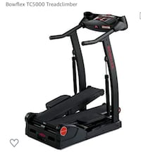Bowflex tc5000 great condition treadmill/stairclimber