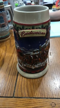 Old town holiday beer stein Budweiser  Mattawan, 49071