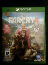 Farcry 4 Xbox One game case Cloquet, 55720