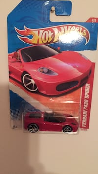 Used Red Ferrari F430 Spider Scale Model Pack For Sale In