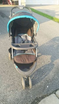 baby's black and blue jogging stroller Bowie, 20721