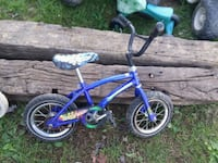 blue and white BMX bike Jonesborough, 37659