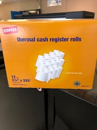 12 Thermal Cash Register Rolls  Calgary, T3B 0A1