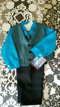 Happy Fella 18M 4PC Suit, NWT  Lexington