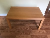 IKEA Birch finish coffee table Fairfax Station, 22039