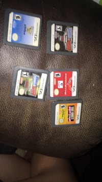 several Nintendo DS game cartridges Covington, 30016