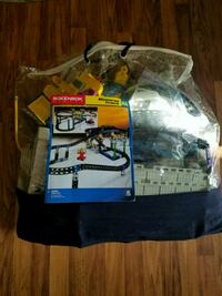 Rokenbok trail track toy set with plastic bag