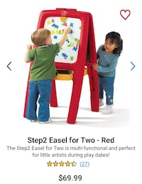 Step 2 Easel For Two kids easel -LETTERS NOT INCLUDED Toronto, M4T 1Y7