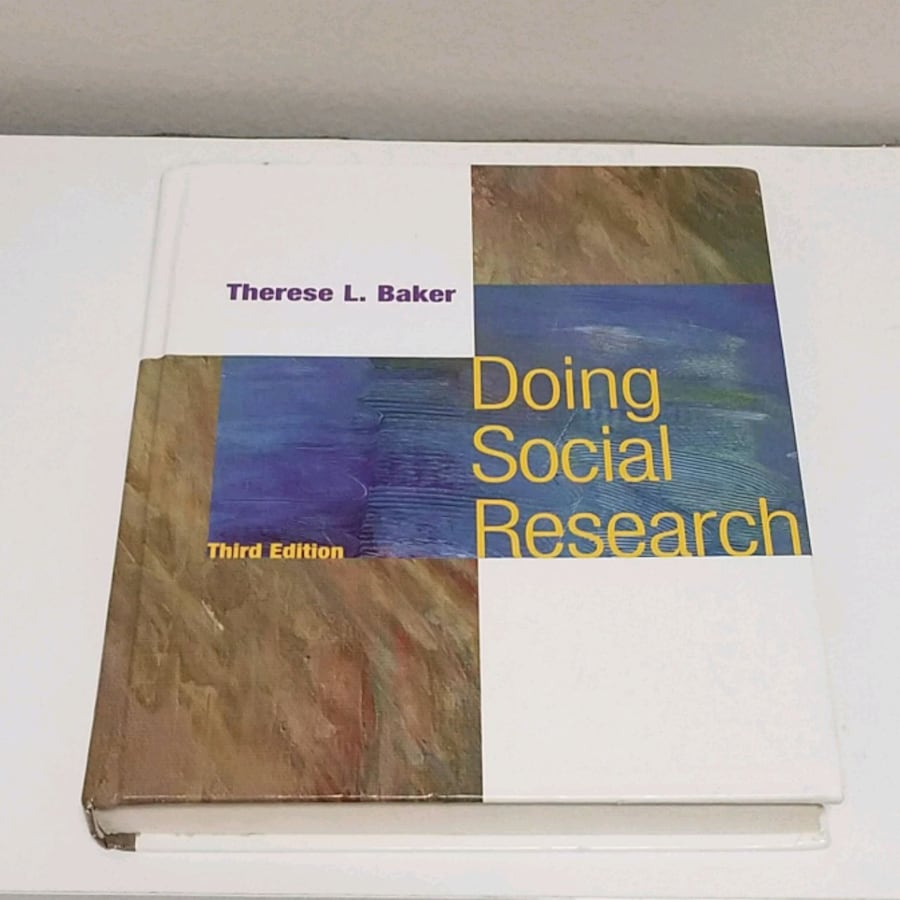Doing Social Research 3rd Edition by Therese L. Baker