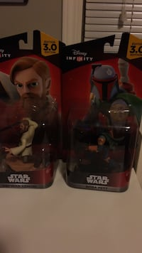 2 star wars character action figures Beaumont