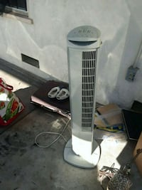 white and gray tower fan Bakersfield, 93304