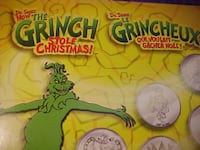 Canadian Mint Coinz Stickers Shrek Harry Potter The Grinch That Stoled Christmas