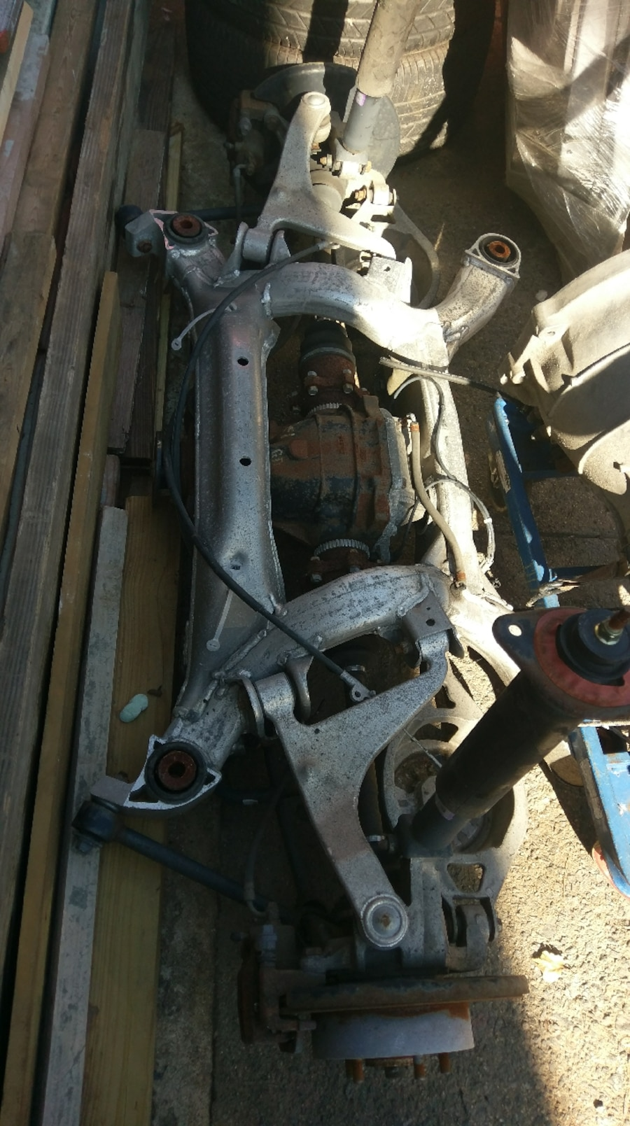 2004 350z rear suspension and passenger door in jersey for Motor vehicle suspension nj
