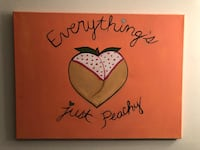 Everything's Just Peachy painting  Frederick, 21701