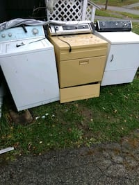 white washer and dryer set 426 mi