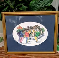 Roja's signed and framed New Orleans Jazz art Ocala, 34482