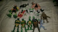 Toy figurines 30$ Montreal, H4L 2N9