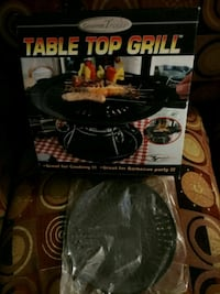 Table top grill. New