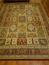 brown, red, and white floral area rug Jacksonville, 32246