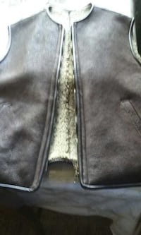 Leather Vest by PURDEY Fairfax, 22033