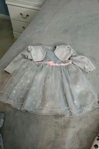 white and pink floral dress and gray little girls  Frederick, 21702