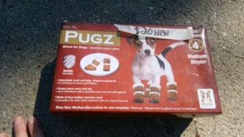 dog boots NEW!