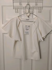 New Zara white top Toronto, M4W 1A9
