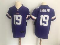 《《 BRAND NEW Minnesota Vikings Adam Thielen Purple Vapor Untouchable Limited Jersey Gift 》》 South El Monte, 91733