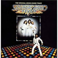 SATURDAY NIGHT FEVER SOUNDTRACK VINYL LP RECORD ALBUM WHITBY