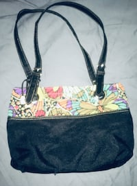 Purse with Butterfly Design Border Hardy, 24101