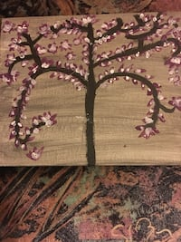 brown and red leaves tree embroidered mat Brampton, L6P 2M7