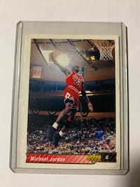 1992 Upper Deck Michael Jordan Basketball Card