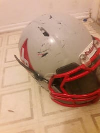 2016 riddell  with under armour visor on