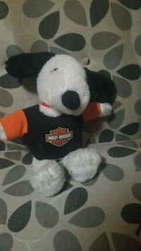 black and white bear plush toy Hamilton, L9A 3P4