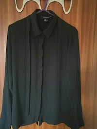 Primark blouse.Black button-up long-sleeved blouse  Edinburgh, EH1