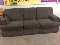 Charcoal gray couch Prairie Village, 66207