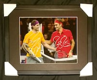 Federer & Nadal Signed Photo Framed w/COA  Caledon, L7E 2X9