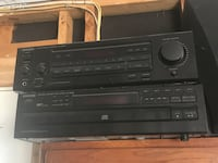 black Sony DVD player with remote Centennial, 80122