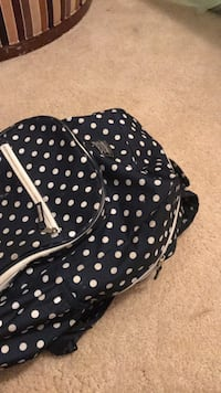 black and white polka dot backpack Capitol Heights, 20743