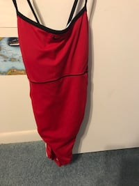 Swimsuit s. 12, red, new