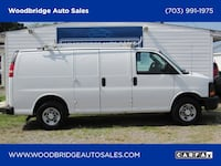 2008 Chevrolet Express Cargo Van White Woodbridge, 22191