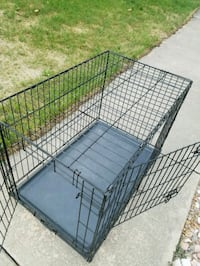 Medium/Large Folding Dog Crate. Double Door Colorado Springs, 80915