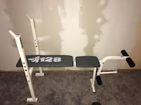 Bench with leg extension - adjustable  Norwich, N0J 1P0