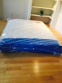 New 11 Inch Queen Mattress  Silver Spring