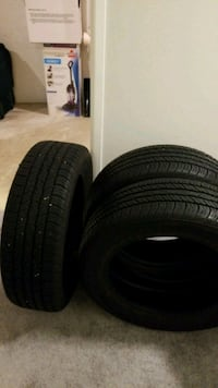 Four Goodyear Wrangler vehicle tires 215 60 17 Silver Spring, 20906