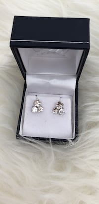 Sterling silver 925 earrings (brand new) Montréal, H4R 3J5